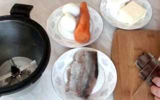 Паштет из соленой селедки рецепт с фото