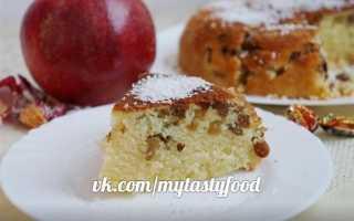 Рецепт пирога на простокваше в мультиварке