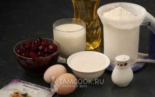 Рецепт пирога с вишней на кефире