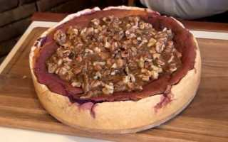 Пирог с бататом рецепт
