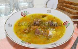 Приготовление супа с рисом и мясом