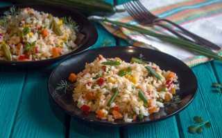 Рис с овощами мексиканская смесь рецепт