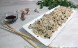 Рис с подсолнечным маслом