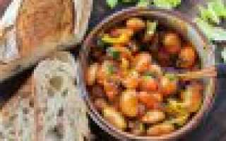 Рецепт салата с бобами