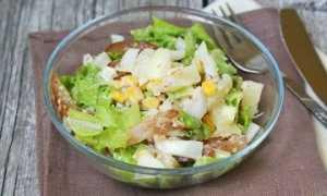 Рецепт салата с карпаччо из курицы