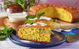 Пирог с мятой рецепт