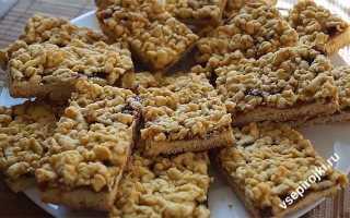Рецепт песочного печенья с повидлом