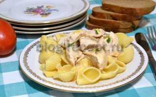 Рецепт вкусного гуляша из курицы с подливкой