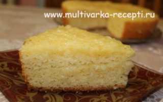 Пирог с лимонной начинкой в мультиварке