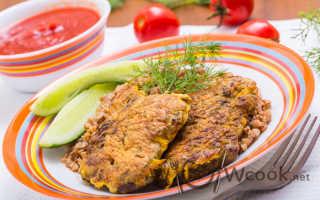 Печень говяжья в сухарях рецепты