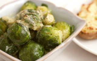 Рецепт с брюссельской капустой в мультиварке