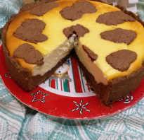 Пирог коровка буренка рецепт с фото