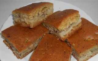 Пирог со шпротами рецепт