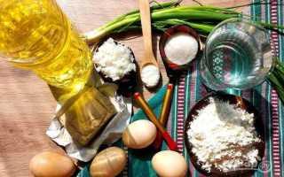 Пироги с яйцом и рисом жареные