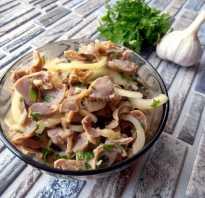 Рецепт маринованных куриных желудочков