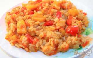 Рис с кисло сладким соусом рецепт