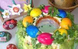 Рецепты слоеных салатов новинки