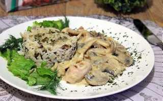 Рис с кальмарами рецепт в сливочном соусе