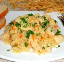 Рис с куриным филе рецепт с фото