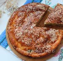Рецепт теста на кефире для мясного пирога