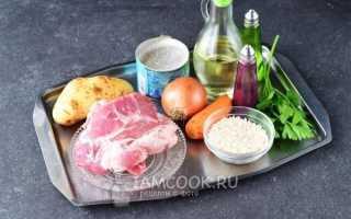 Приготовление рисового супа с мясом