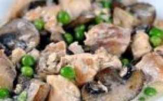 Рецепт приготовления грибов в мультиварке