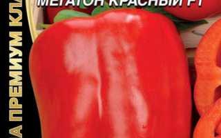 Перец мегатон красный отзывы с фото