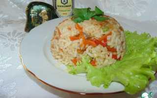 Рис на гарнир с соевым соусом
