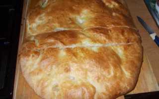 Пирог с кетой и рисом