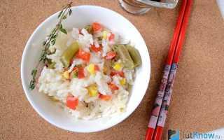 Рис запеченный в духовке с овощами