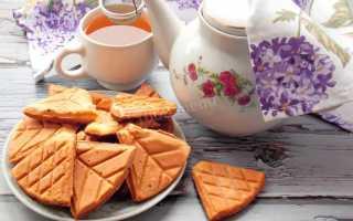 Рецепт печенья вафли в форме на газу