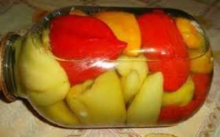 Перец фаршированный овощами на зиму в томате