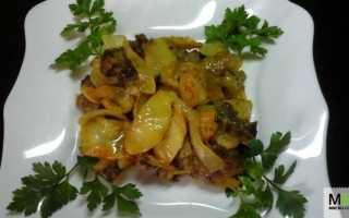 Печень с яблоками рецепт по берлински