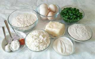 Пирог с яичной начинкой