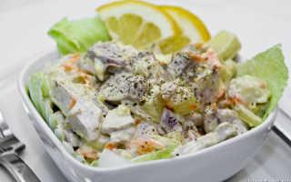 Рецепт салата с молоками лососевых