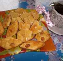 Рецепт творожного печенья с изюмом