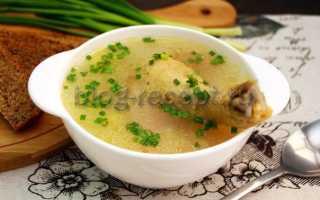 Рецепт приготовления супа с курицей и рисом