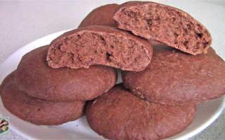 Рецепт печенья с бананом и шоколадом