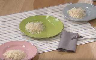 Рис приготовить рассыпчатый пошагово