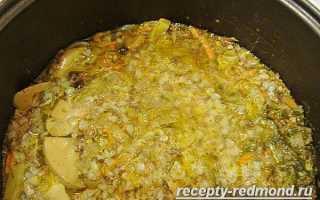 Рецепт гречневого супа в мультиварке редмонд