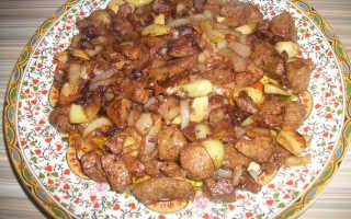 Печень говяжья в соевом соусе рецепты