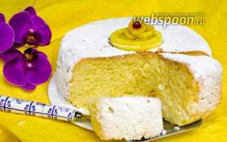 Рецепт лимонного кекса в мультиварке