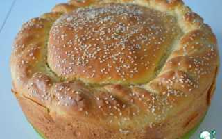 Пирог бургер рецепт с фото пошагово