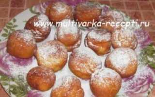 Пончики в мультиварке рецепт с фото