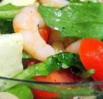 Рецепты салата с руколой и кедровыми орешками