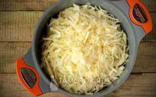 Рецепт капуста с рисом тушить