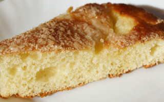 Пирог на сливках рецепт с фото