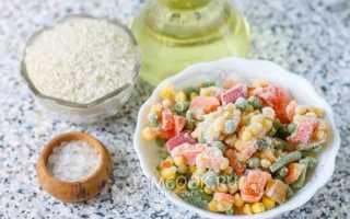 Рис с овощами готовая смесь