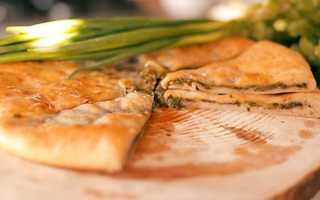 Пирог с ботвой свеклы и сыром