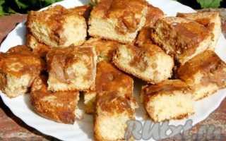 Пирог с маскарпоне рецепт с фото